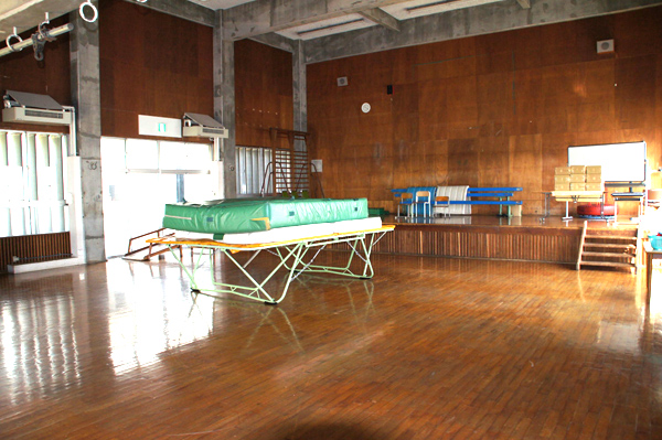 のびろ学園体育館